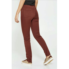 Jeans slim EDWIN Rouge, bordeaux