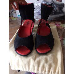 Sandales à talons ARCHE Noir