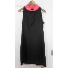 Robe mi-longue 1975 DIMENSION noire /beige / rose