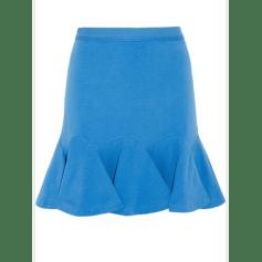 Mini Skirt CARVEN Blue, navy, turquoise