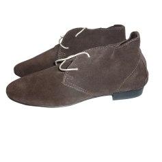Chaussures à lacets  ANNIEL Marron