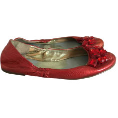 Ballerines GUESS Rouge, bordeaux