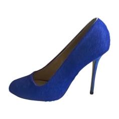 Décolleté CÉLINE Blu, blu navy, turchese