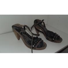 Sandales à talons Cop-Copine  pas cher