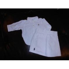 Skirt RALPH LAUREN White, off-white, ecru