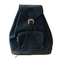 Zaino LOUIS VUITTON Blu, blu navy, turchese