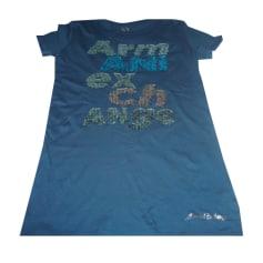 Top, tee-shirt ARMANI EXCHANGE Bleu pétrole