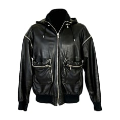 Leather Jacket DOLCE & GABBANA Black