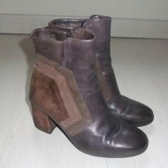 Bottines & low boots à talons MJUS Marron