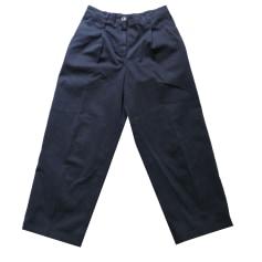 Pantalon large  INCOTEX Bleu, bleu marine, bleu turquoise