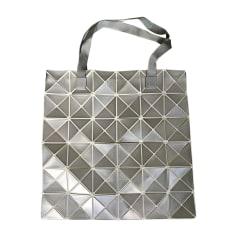 Non-Leather Handbag ISSEY MIYAKE Silver