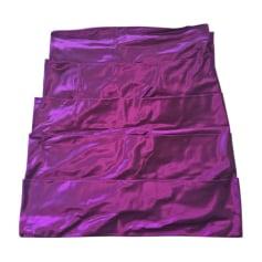 Jupe courte AZZARO Violet, mauve, lavande