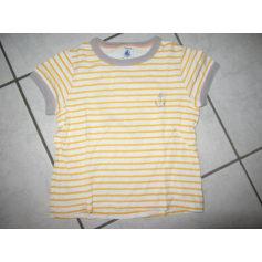T-shirt PETIT BATEAU Yellow