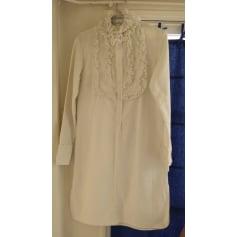 Robe tunique ALEXIS MABILLE Blanc, blanc cassé, écru