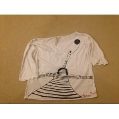 Top, tee-shirt ANTONIO MARRAS Blanc, blanc cassé, écru