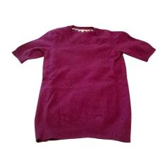 Top, t-shirt BURBERRY Rosso, bordeaux