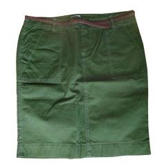 Jupe mi-longue BELLEROSE Vert