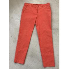 pantalon orange femme zara
