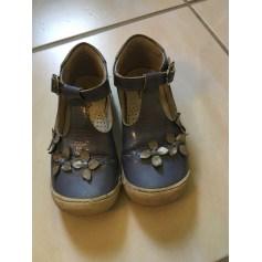Chaussures à boucle ASTER Bleu, bleu marine, bleu turquoise