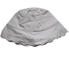Chapeau LILI GAUFRETTE Blanc, blanc cassé, écru