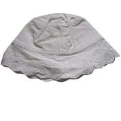 Hat LILI GAUFRETTE White, off-white, ecru