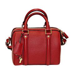 Leather Handbag LOUIS VUITTON Sofia Coppola Red, burgundy