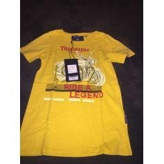 T-shirt TRIUMPH Yellow