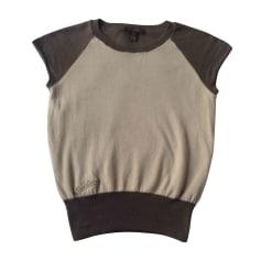 Tops, T-Shirt LOUIS VUITTON Beige