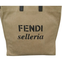 Shopper FENDI Beige