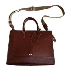 Briefcase, folder RALPH LAUREN Brown