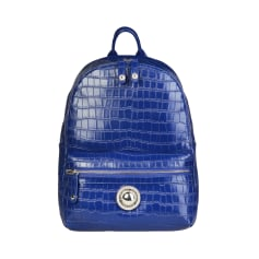 Backpack VERSACE Blue, navy, turquoise