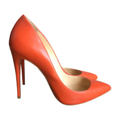 Escarpins CHRISTIAN LOUBOUTIN Orange