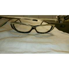 Monture de lunettes ALAIN MIKLI Doré, bronze, cuivre