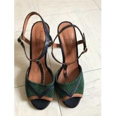Sandales à talons ANTHOLOGY PARIS Vert