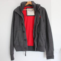 Veste ABERCROMBIE & FITCH Gris, anthracite