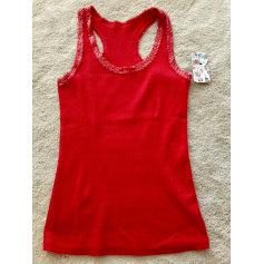 Top, tee-shirt AQUA Rouge, bordeaux