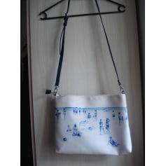 Sac en bandoulière en tissu NICE THINGS tissu blanc Y5vaqbyCNT