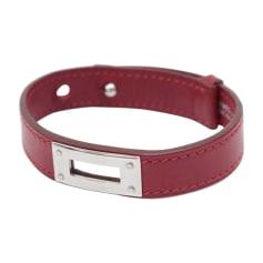 Armband HERMÈS Rot, bordeauxrot