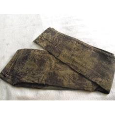 Jeans droit MAISON SCOTCH Imprimés animaliers