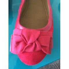 Ballet Flats MANGO Red, burgundy