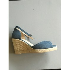 Sandales compensées ANTONIO MIRO Bleu, bleu marine, bleu turquoise