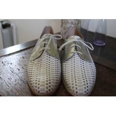 Chaussures à lacets  PERTINI Argenté, acier
