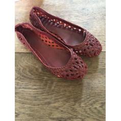 Ballet Flats ANTIK BATIK Red, burgundy