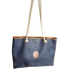Sac XL en cuir TRUSSARDI Bleu, bleu marine, bleu turquoise
