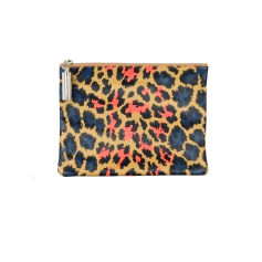 Leather Clutch CHRISTOPHER KANE Multicolor