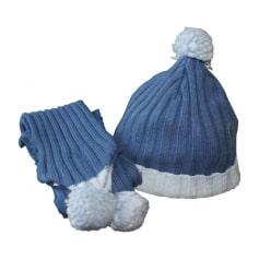 Bonnet CLAYEUX Bleu, bleu marine, bleu turquoise