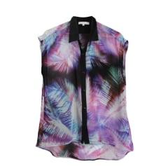 Bluse SANDRO Violett, malvenfarben, lavendelfarben