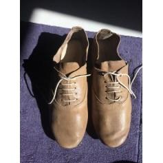 Chaussures à lacets  ANNIEL Cognac