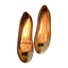 Ballerines MARC BY MARC JACOBS Doré, bronze, cuivre