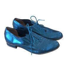 Chaussures à lacets  COTÉLAC Bleu métallisé